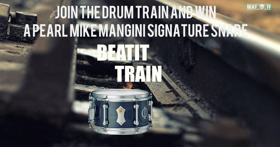 'Drum Train' Contest – vote now!