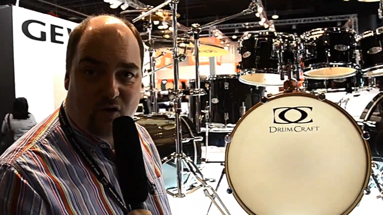 DrumCraft at Musikmesse 2014, Pt.1