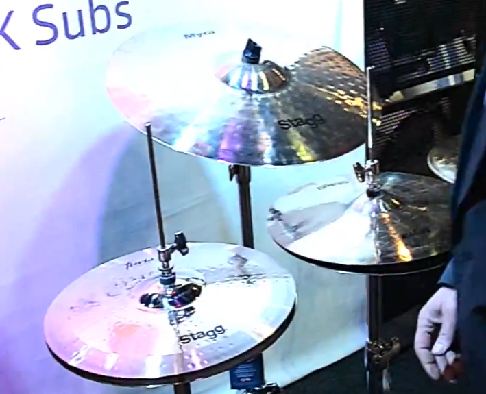 Stagg at Musikmesse 2014