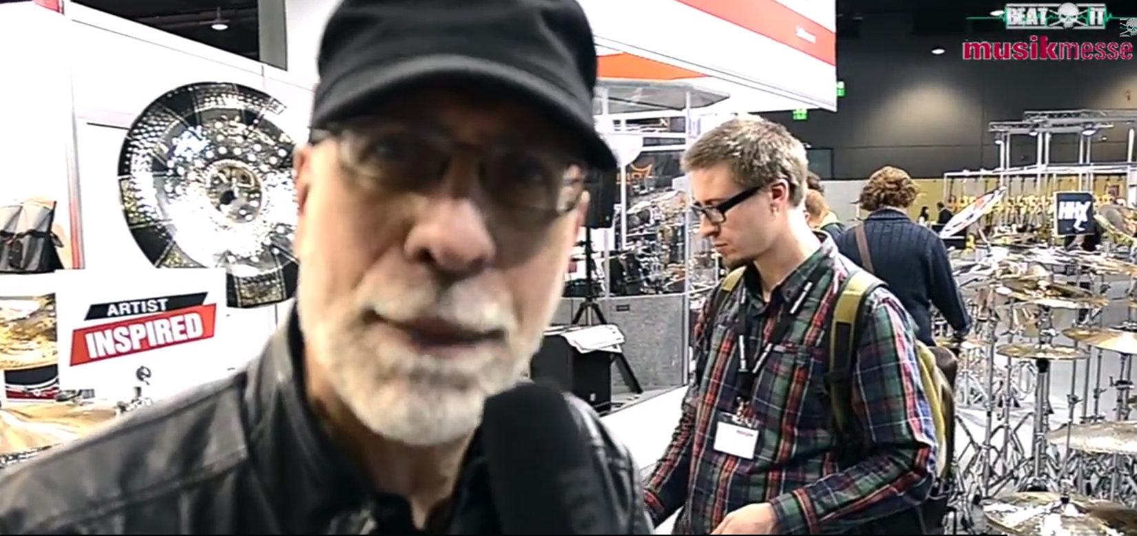 Sabian & Dom Famularo at Musikmesse 2014