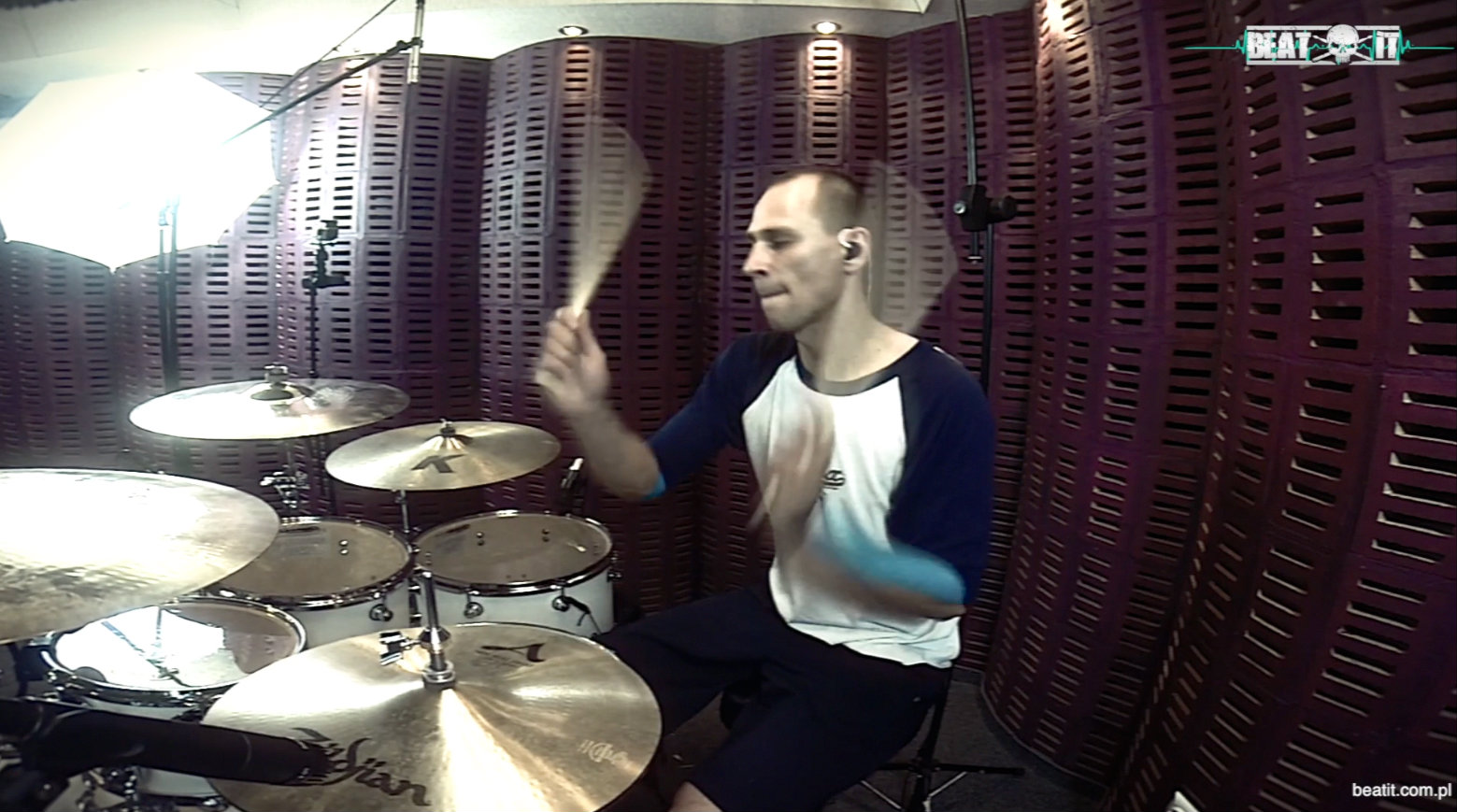 M. Sieroszewski – 'Don't Stand So Close To Me' Drum Cover