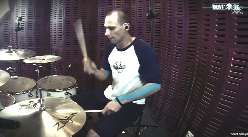 M. Sieroszewski – 'No One Knows' Drum Cover