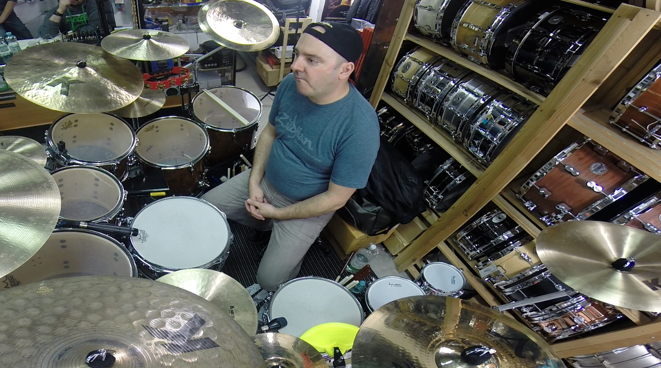 Gabor Dornyei – Poznań Drum Clinic, Pt. 2