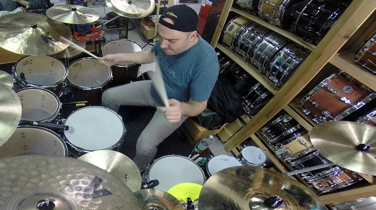 Gabor Dornyei – Poznań Drum Clinic, Pt. 1