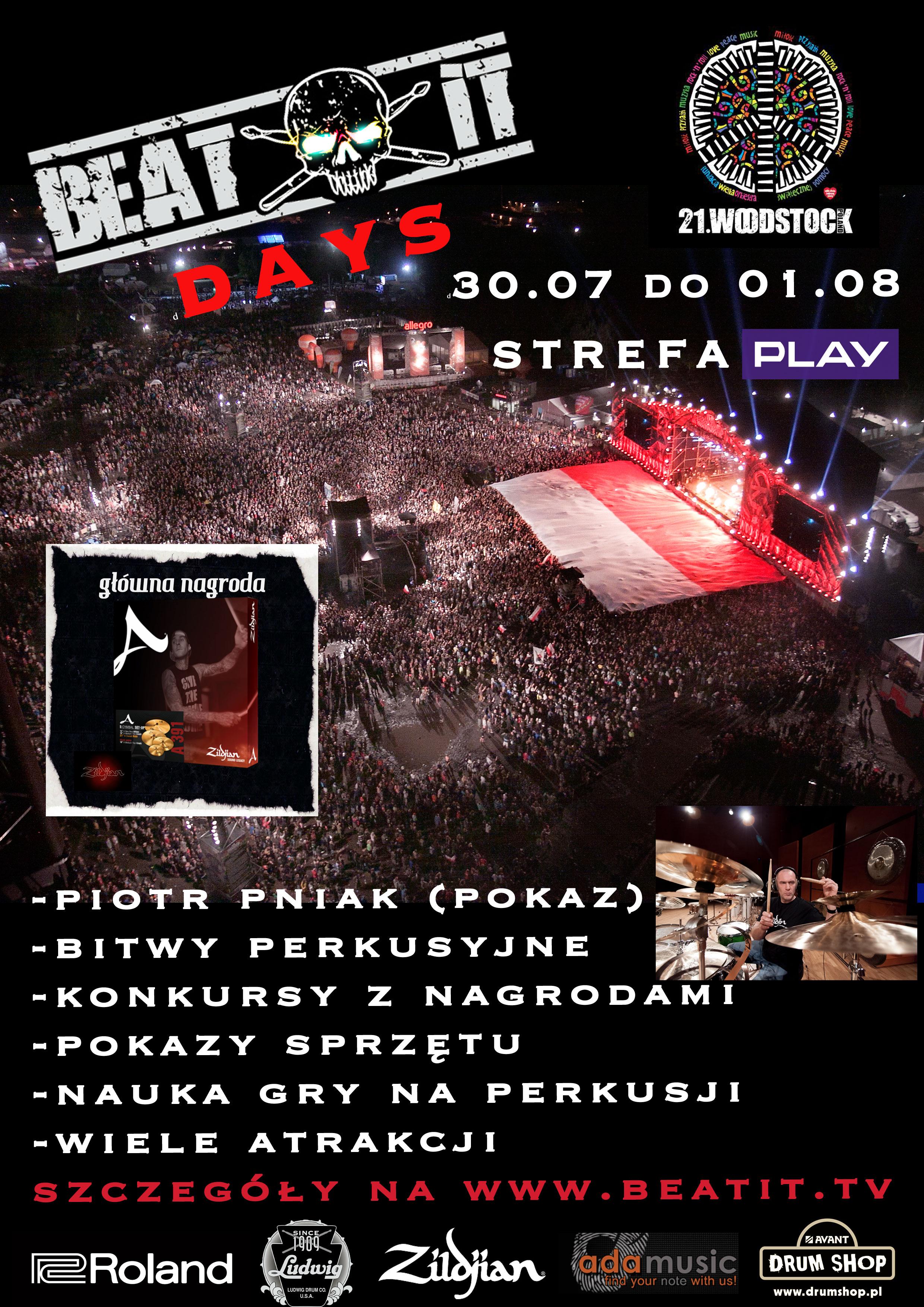 BeatIt Days, Przystanek Woodstock Festival 2015