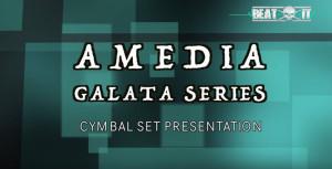 Amedia Galata Cymbal Set