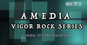 Amedia Vigor Cymbal Set