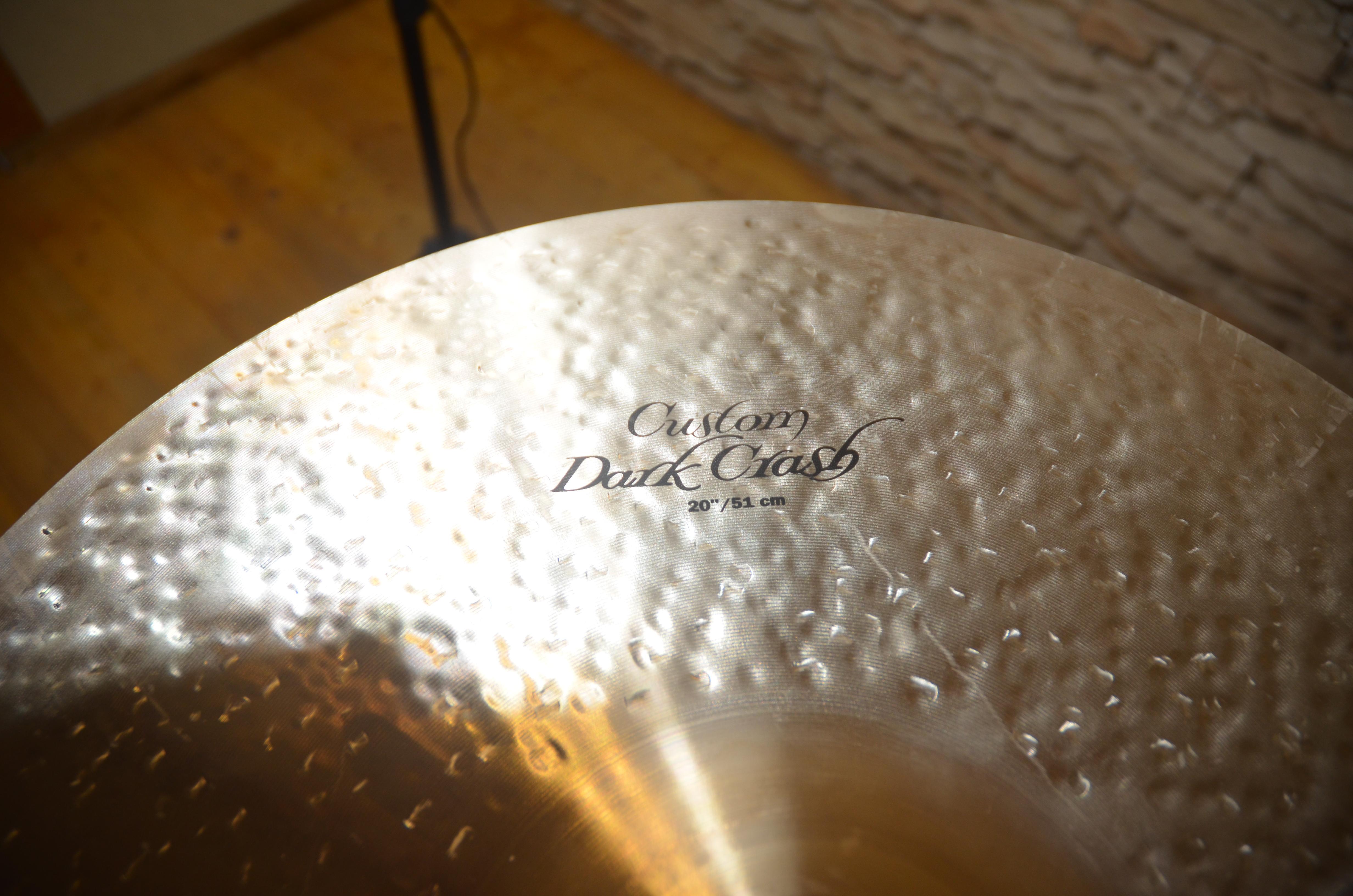 "Zildjian 19″ and 20"" K Custom Dark Crash"