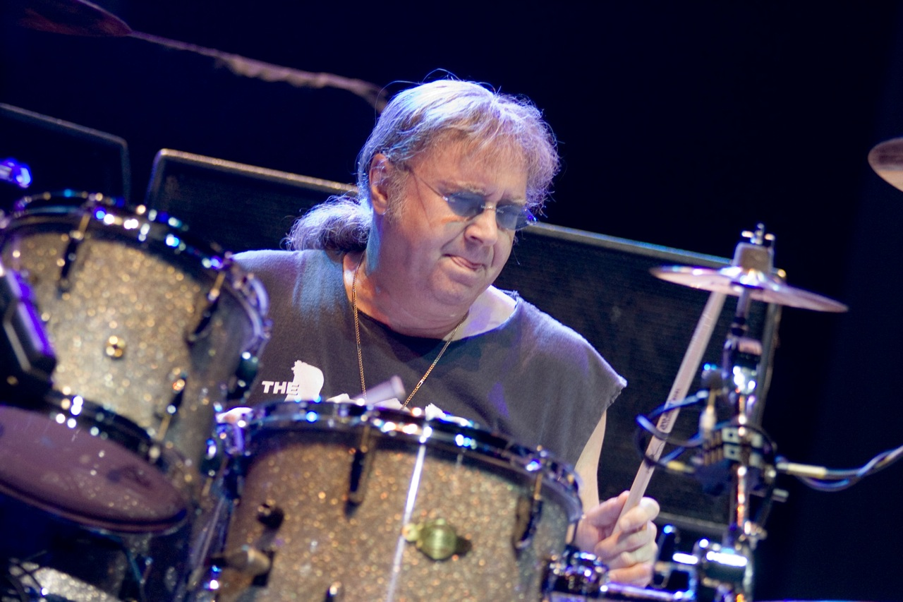 Ian Paice plays Roland V-Drums