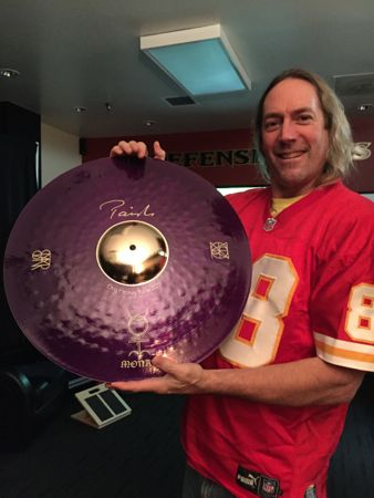 DANNY CAREY'S NEW PAISTE CYMBAL