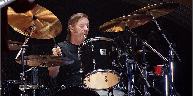 Phil Rudd on AC/DC