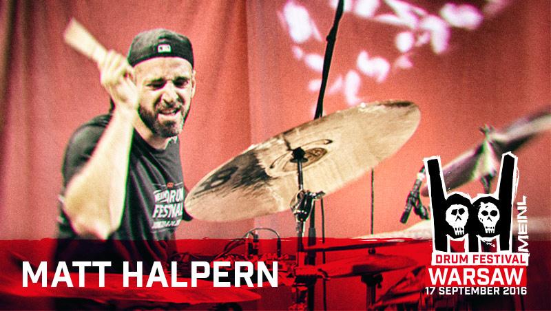 Next artist at the 2016 Meinl Drum Festival