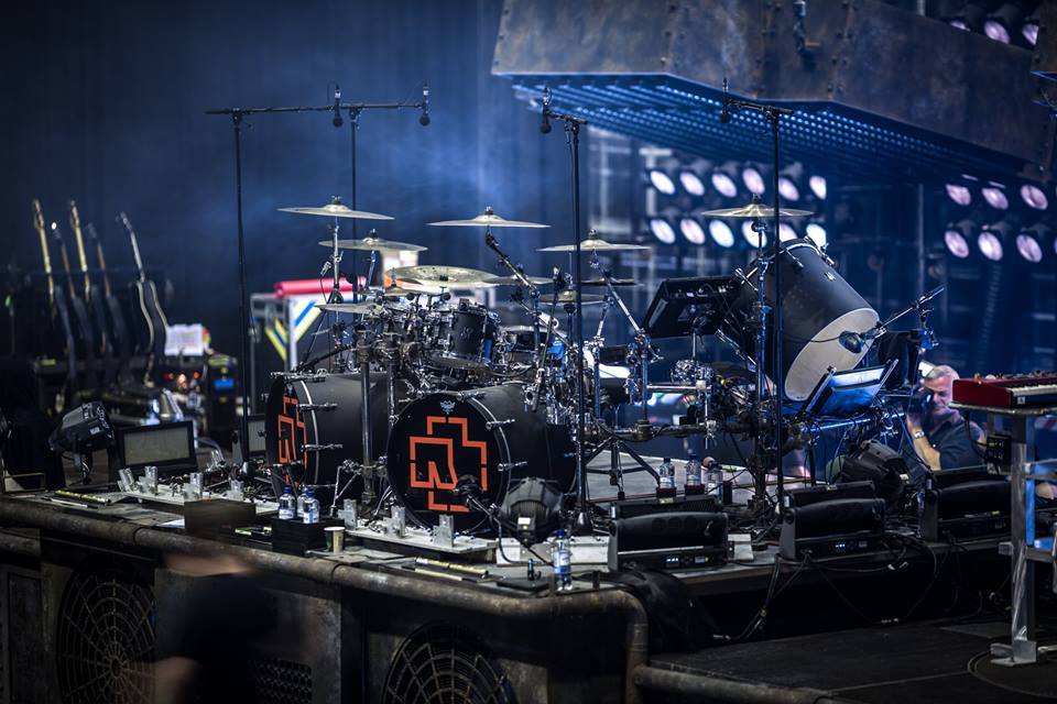 Rammstein's Drum Kit