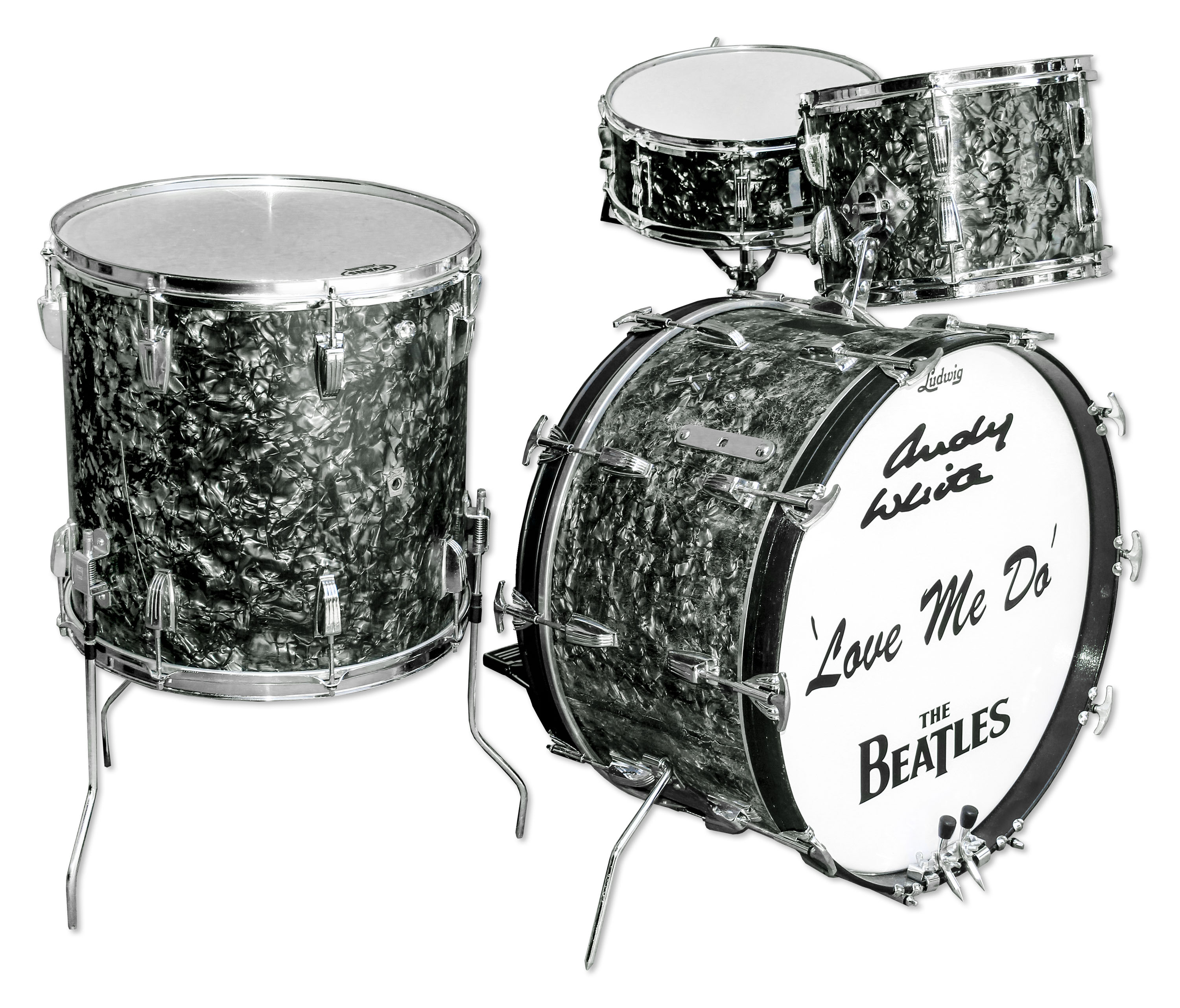 Become the owner of the legendary The Beatles drum kit