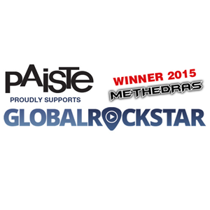 Paiste presents Global Rockstar Contest winner of 2015