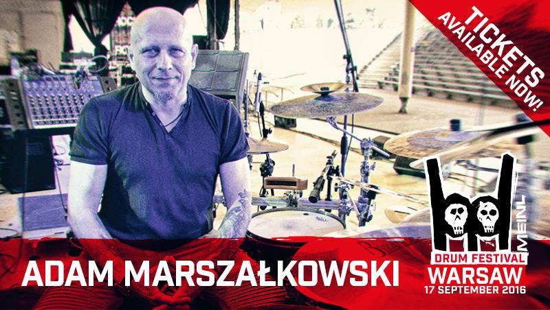 Meinl Drum Festival 2016: A. Marszałkowski