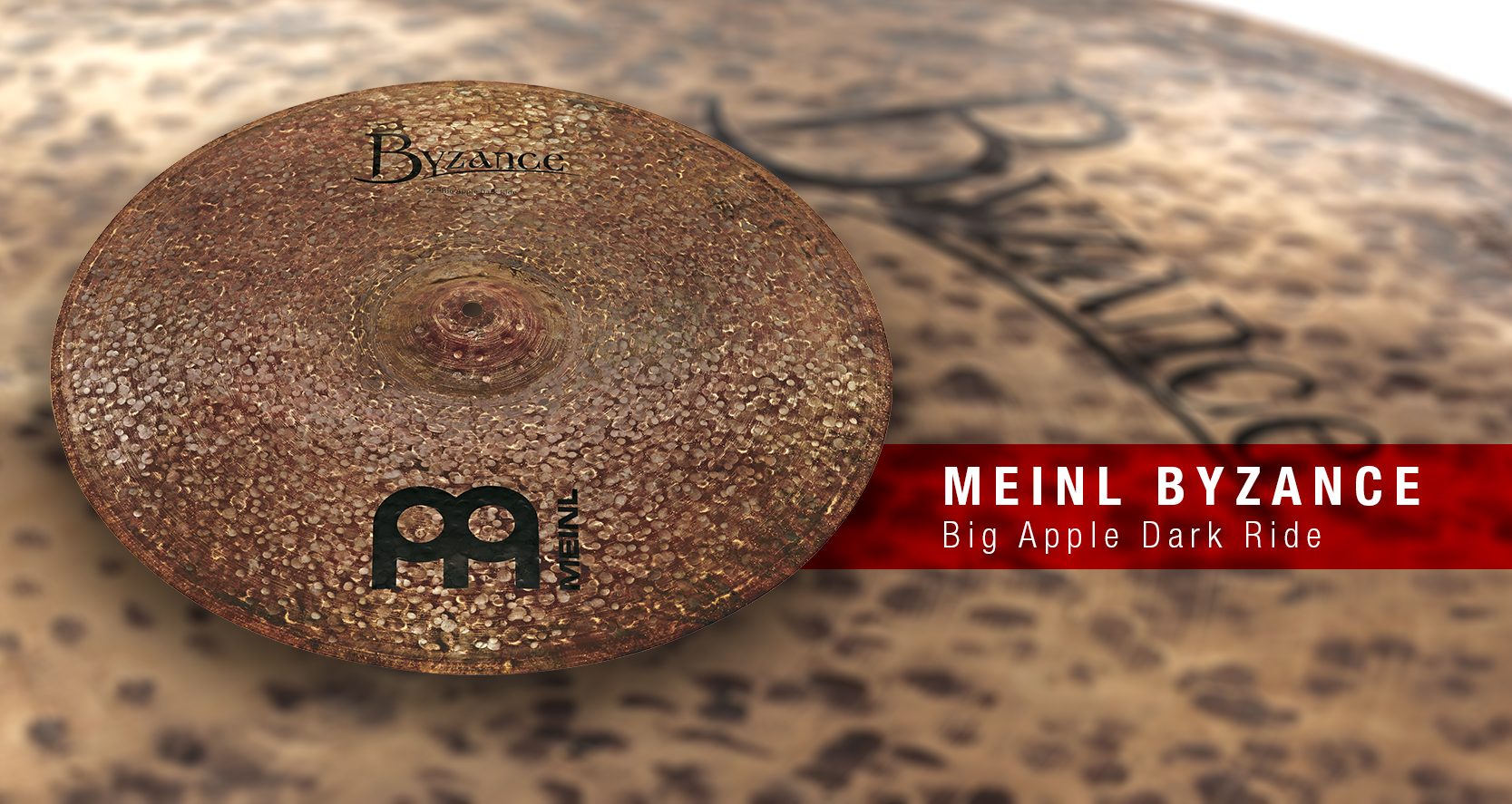 New Meinl Byzance Big Apple Dark Rides