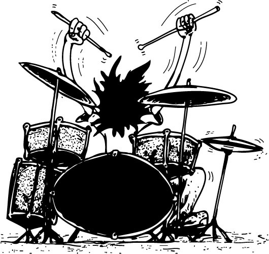 Playing drums is good for your health