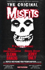Drummer for The Misfits confirmed