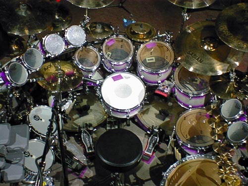 Chad Szeliga Drum Set