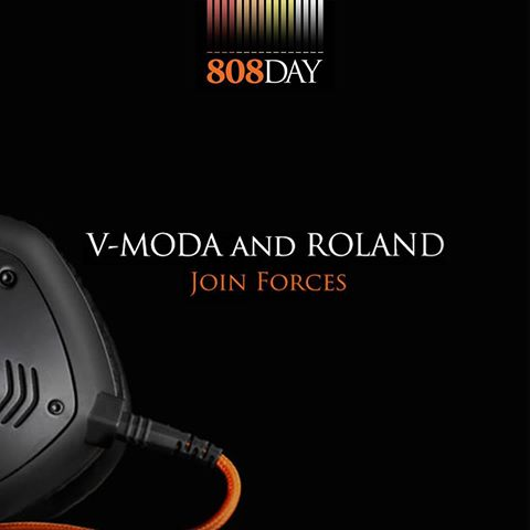Roland joins forces with V-MODA