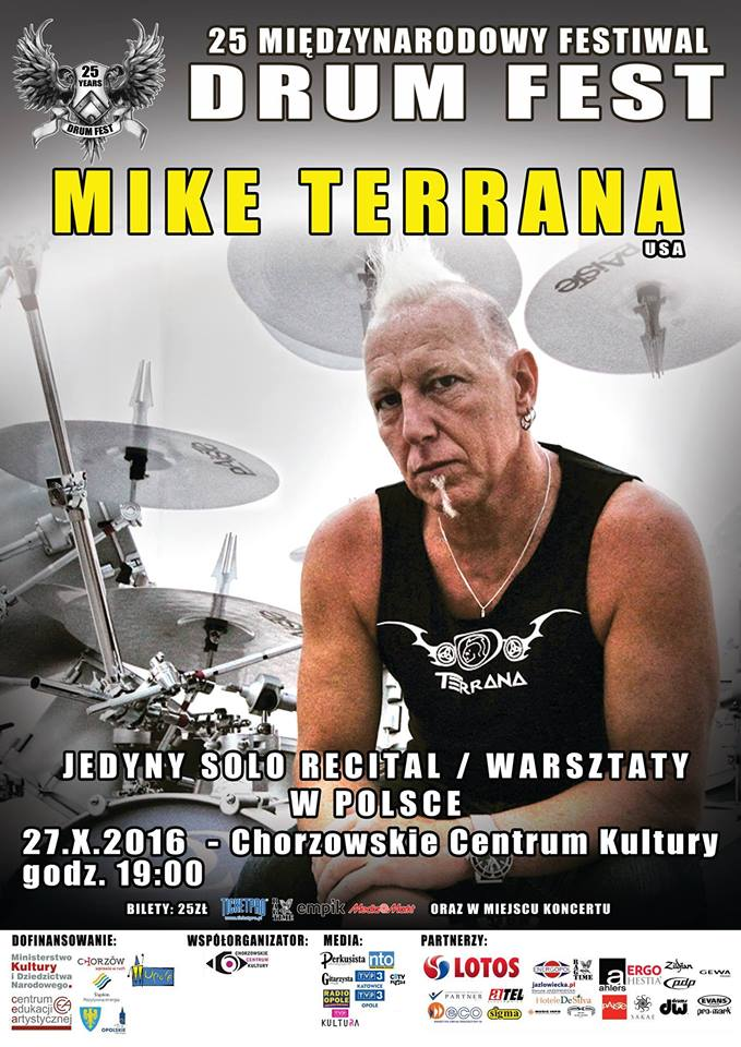 Mike Terrana is coming to town