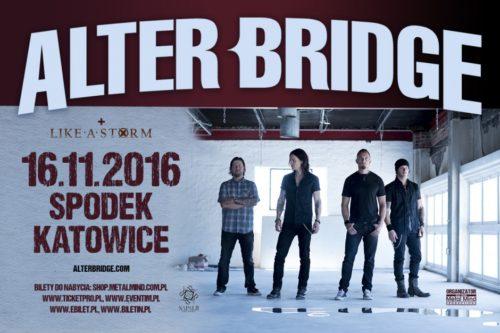 Alter Bridge in Katowice