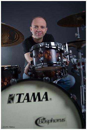 Peter Szendofi: Drum Clinic in Poznań, Poland