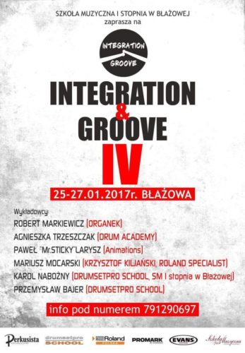 The 4th Edition of Integration & Groove Workshop