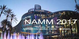 NAMM Show 2017- here we go