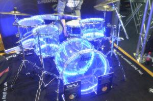 Pearl at London Drum Show 2016