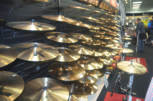 Zildjian Booth at London Drum Show 2016