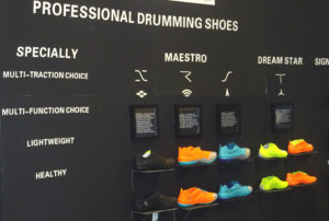 drum shoes namm2017