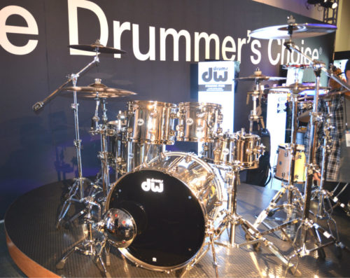 NAMM 2017: DW Booth