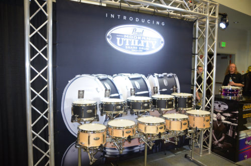 NAMM 2017: Pearl Booth