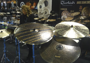 NAMM 2017: Turkish Cymbals Booth