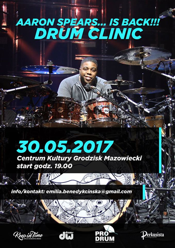 Aaron Spears is back in Poland