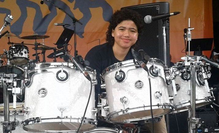 14-year-old drummer receives Barack Obama Lifetime Achievement Award