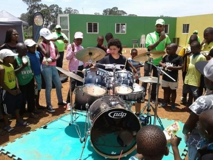 South African drummer receives B. Obama Award