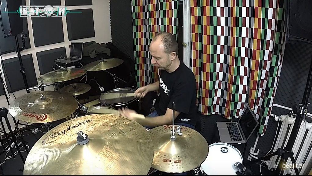 P. Szendofi drum solo www.beatit.tv