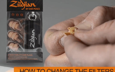BeatIt Test: Zildjian HD by Ear Peace Earplugs
