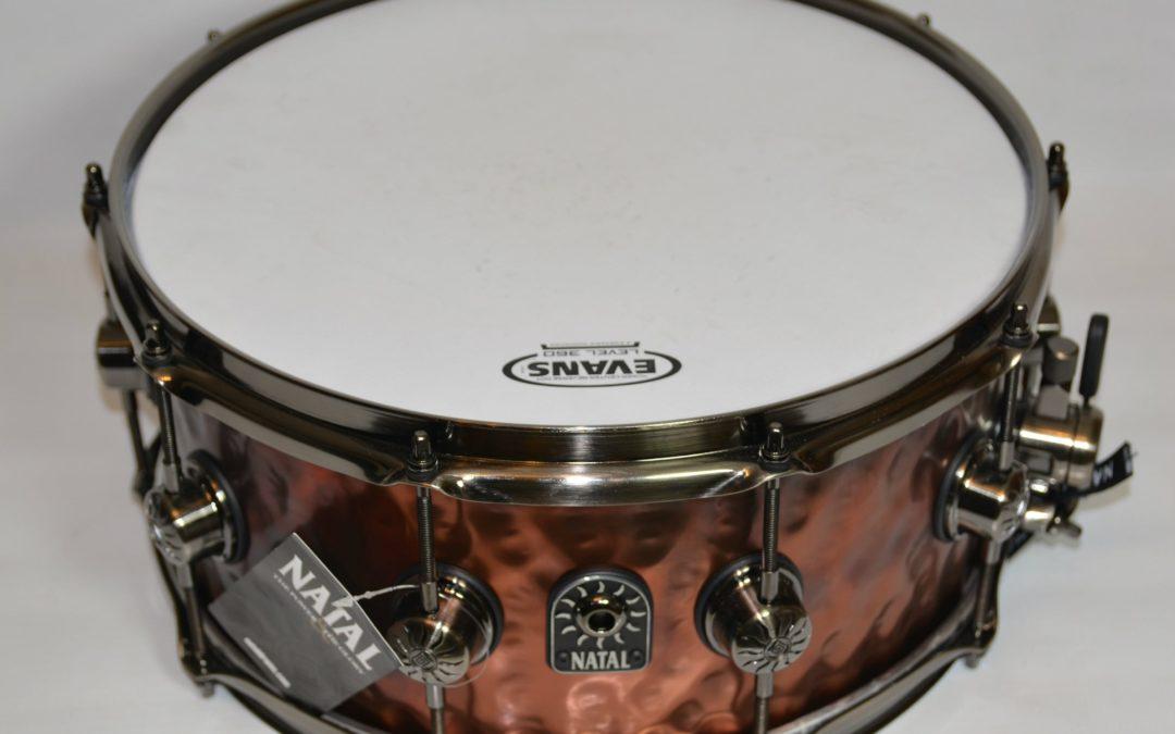 BeatIt Test: Natal Hand Hammered Old Bronze Snare Drum