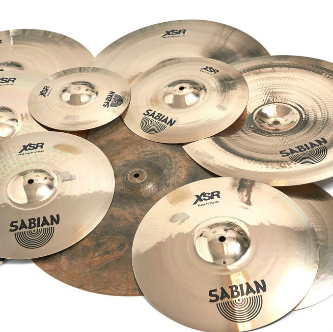 3 New XSR Cymbals By Sabian