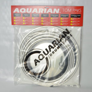 Aquarian Drumheads packed