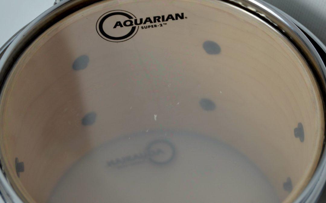 BeatIt Test: Aquarian Super-2 Clear Drumheads