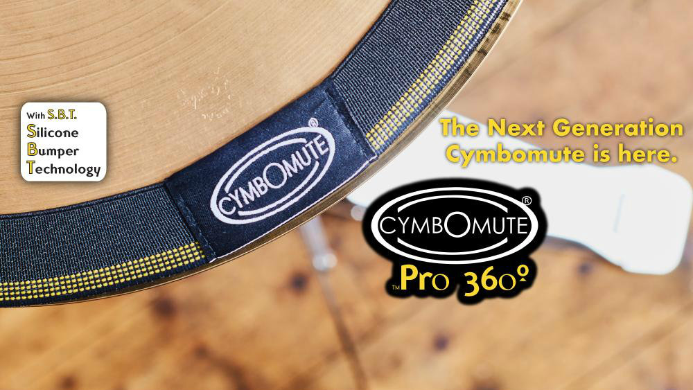 Cymbomute Silicone Bumper Technology
