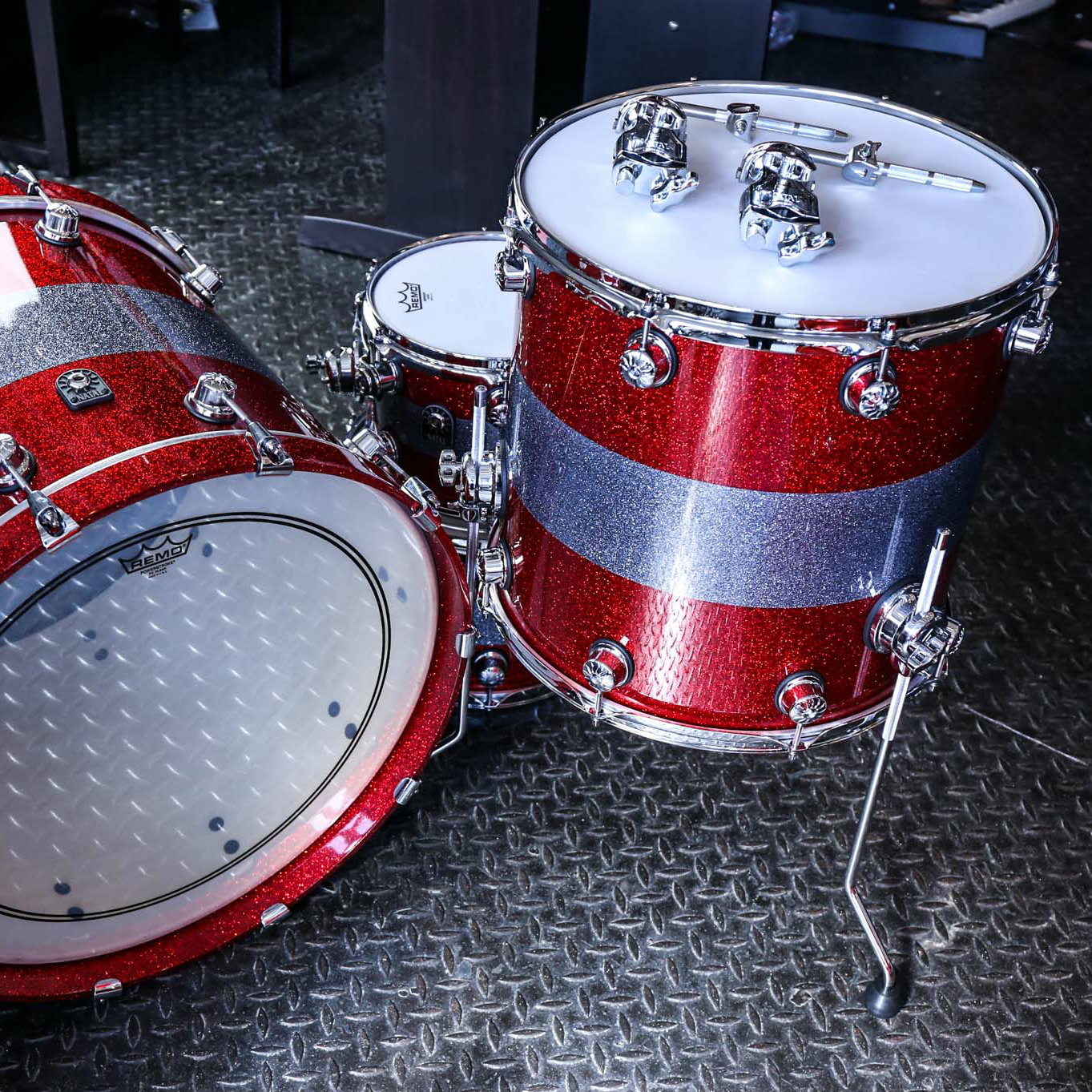 Natal Drums Back side