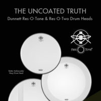 Dunnett Res-O-Tone and Res-O-Two Drum Heads by Remo