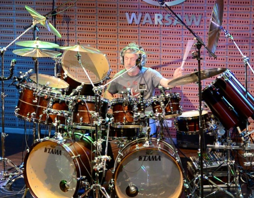 Simon Phillips Drum Clinic in Warsaw