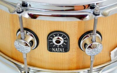 Beatt Test: Natal Pure Stave (Maple) Snare Drum